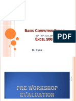 Ms Excel_2007 by Ilyas