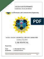Sharmi ECE a-D-Circuits Lab Manual