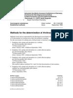 Methods for the Determination of N-nitrosamines