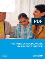 Report on the Role of Social Work in Juvenile Justice in the world