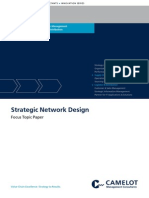Camelot Strategic Network Design Focus Topic Paper