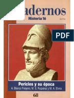 Cuadernos Historia 16, Nº 068 - Pericles y Su Epoca