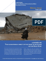 Gaza Impact of Two Years of Blockade August 2009