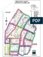 City of Lincoln Park, Michigan (Precinct Map)