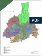La mappa dei Quartieri