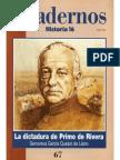 Cuadernos Historia 16, Nº 067 - La Dictadura de Primo de Rivera