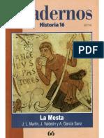 Cuadernos Historia 16, Nº 066 - La Mesta