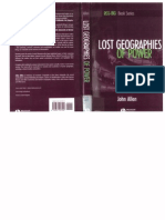 Lost Geographies of Power - Allen John