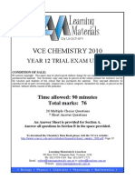 chem unit 4 exam 2010