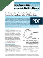 Distance Between Two GPS Cordinates(Ipni.net)