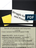 Struggle for Rights and Freedom