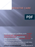 carePostoperative