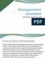D02.S01.1 Managementul Schimbării