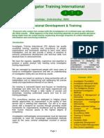 ITI Courses - 2014