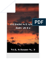 Crimson Dawn Newsletter - July 2014