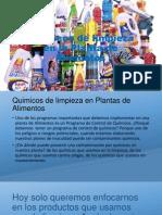 Químicos de limpieza en la Planta de Alimentos.pptx