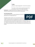 Core Java RCPL Doc