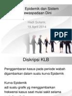 Kurva Epidemik 19 April 2014