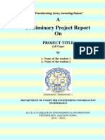 BE Project Report Format-Sem - I