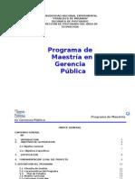 Programa Gerencia Pública