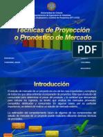 Tecnicas de Proyeccion y Pronostico de Mercado