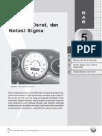 Barisan, Deret, Dan Notasi Sigma