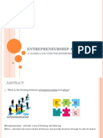 Entrepreneurship and Ethics