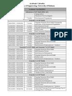 Academic Calendar 2013 2014
