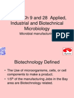 Ch 28 Applied and Industril Microbiology