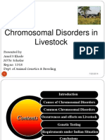 Chromosmal Disorders in Livestock