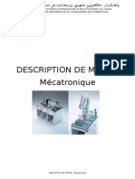 Description de Metier Mécatronique