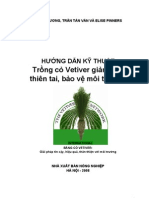 VETIVER SYSTEM APPLICATIONS - A TECHNICAL REFERENCE MANUAL - VIETNAMESE EDITION