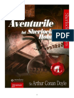 Arthur Conan Doyle - Aventurile Lui Sherlock Holmes Vol.1