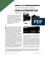 Efecto Del Turismo en El Desarrollo Local