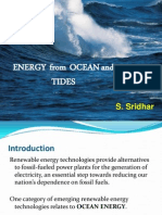 Tide and Wave Energy