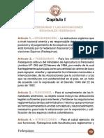 Reglamento de Fedequinas 2007