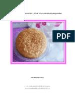 Pastel Borracho de Leche de Almendras