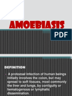Report on Amoebiasis
