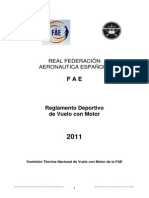 Reglamento FAE Rally 2011 Anticuado