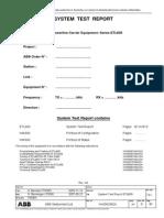 1KHD626826ge System Test Report ETL600