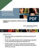 CCNA-Disc-2-Capítulo 4 Planificación de LaEstructura de Direccionamiento
