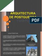 Arquitectura de La Post Guerra