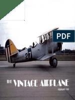 Vintage Airplane - Feb 1982