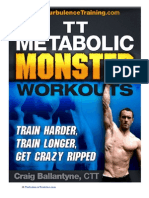 Youblisher.com-738650-Turbulence Training Metabolic Monster Workout Guide PDF NOT a BS Review
