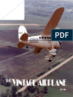 Vintage Airplane - Jul 1983