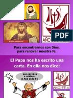 Año de la Fe niños