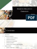 Diabetes en El Embarazo. José Valencia