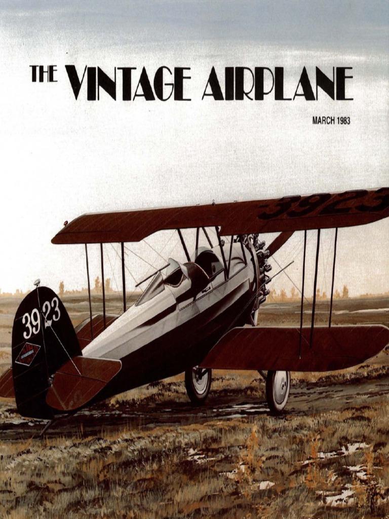 Vintage Airplane - Mar 1983 | Experimental Aircraft Association