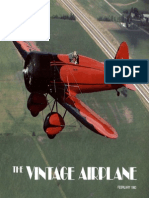 Vintage Airplane - Feb 1983