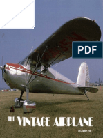 Vintage Airplane - Dec 1984
